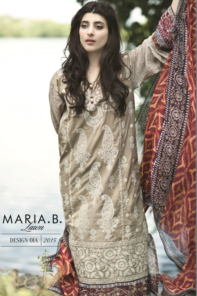 Latest Collection Lawn by MARIA.B 2015 Spring Summer
