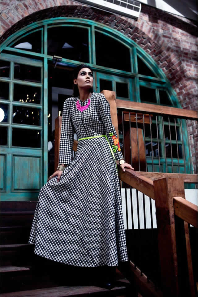 d37955b62 Maria B Winter Dresses collection 2015 Pictures – Fashion Central