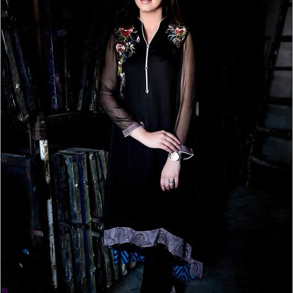 Embroidered Winter Collection 2015 by Maria B