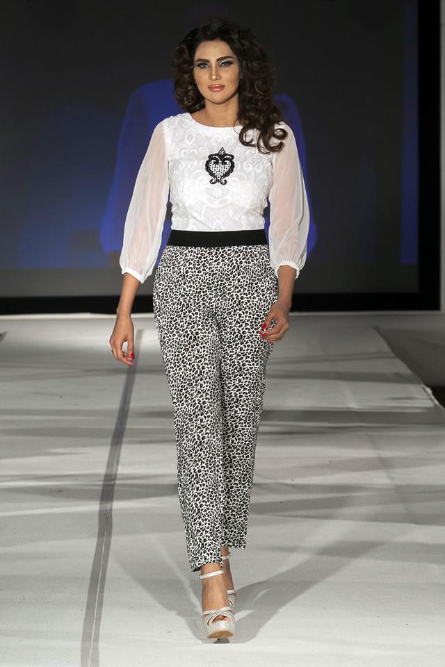 Madiha Gohar Collection Pakistan Fashion Extravaganza London 2015 Pics