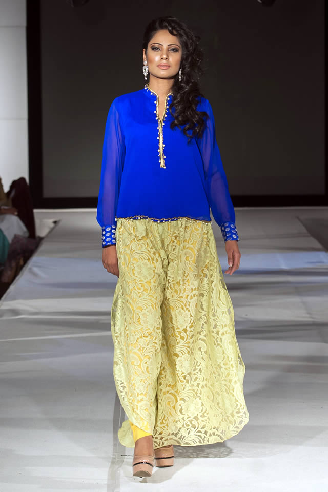 2015 Pakistan Fashion Extravaganza London Madiha Gohar Formal Collection Pictures