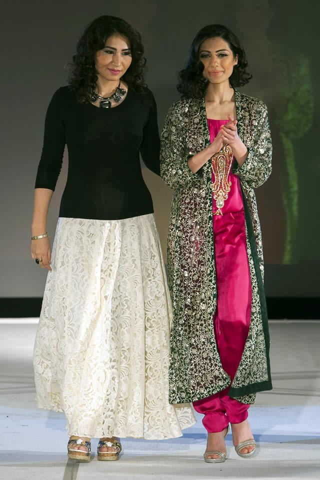 Pakistan Fashion Extravaganza London 2015 Madiha Gohar Formal Collection Pictures