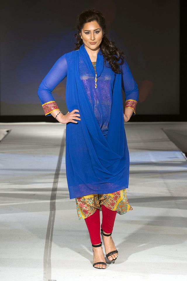 2015 Pakistan Fashion Extravaganza London Madiha Gohar Summer Dresses Picture Gallery