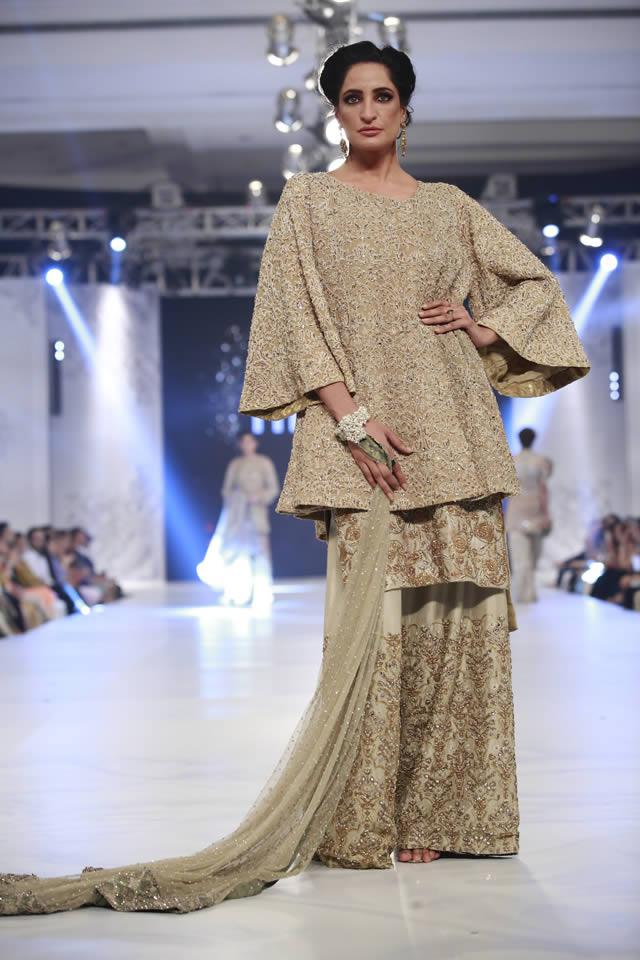 PFDC LOreal Paris Bridal Week 2016 Mahgul Dresses Gallery