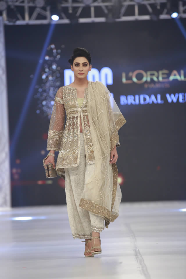 PFDC LOreal Paris Bridal Week 2016 Mahgul Formal Collection Pictures