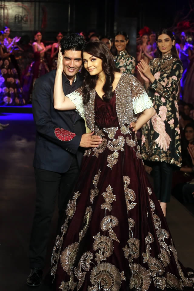 Manish Malhotra Launched Limited Edition at AICW 2015