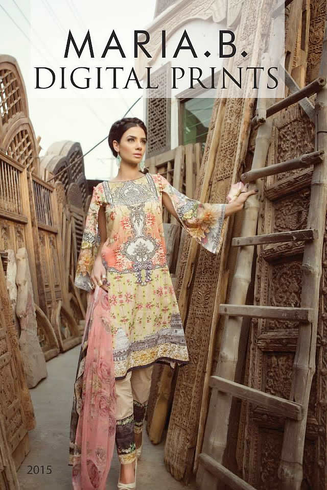 Maria B Summer Eid Dresses Collection 2015