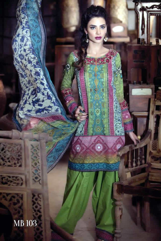 Summer Eid 2015 Maria B Dresses Picture Gallery