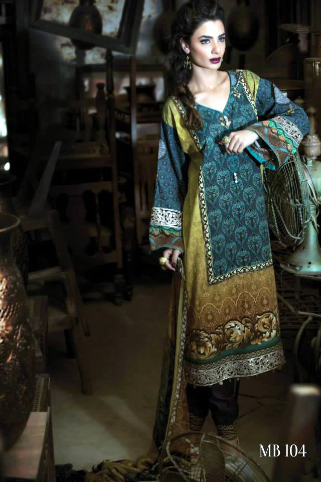 Fashion Designer Maria B Collection Summer Eid 2015