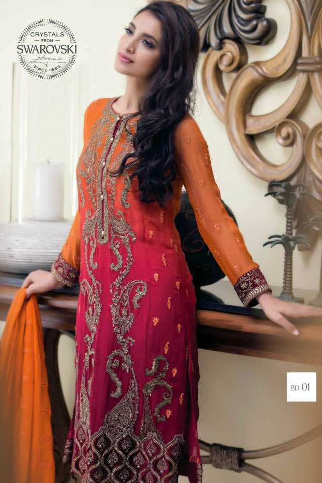fdd1668211 Maria B Summer Mbroidered Eid Collection 2015