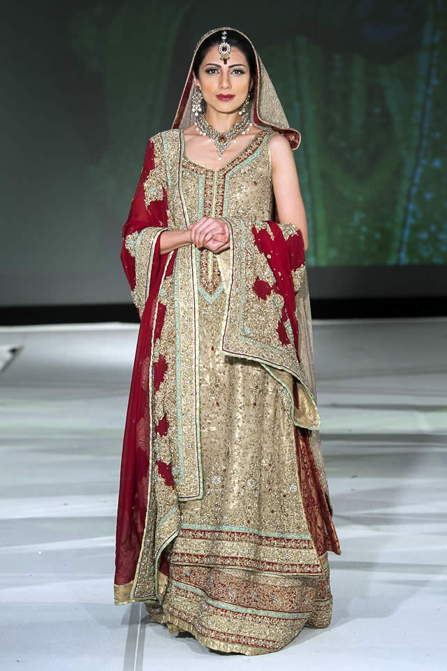 ec6c0768b5 ... Mehdi Bridal Dresses Collection. Mehdi Collection Pakistan Fashion  Extravaganza 2015 Pics