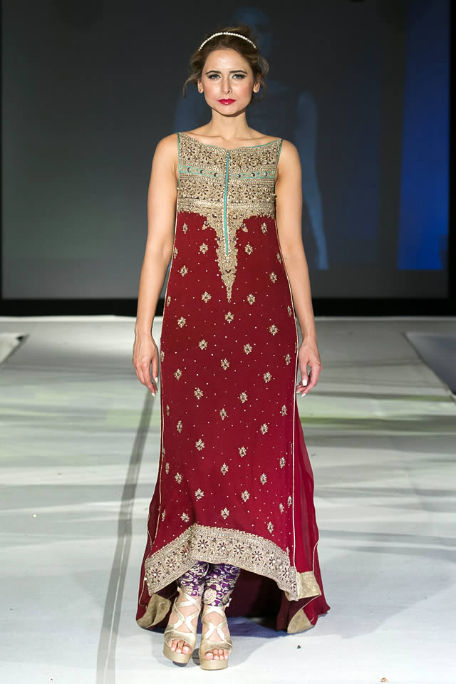 f962df06eb 2015 Pakistan Fashion Extravaganza London Mehdi Bridal Dresses Picture  Gallery