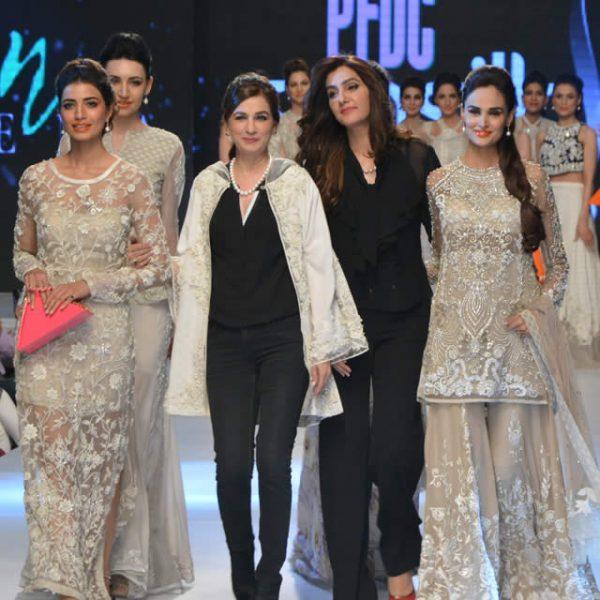 Nickie Nina at 2015 PFDC Sunsilk Fashion Week
