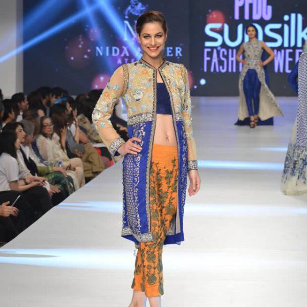 """Nida Azwer """"Luxury Pret"""" Col at PFDC Sunsilk Fashion Week 2015"""