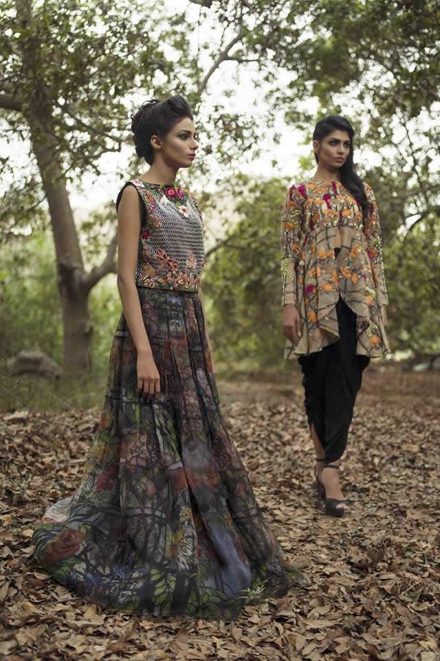 Nida Azwer Summer collection 2016 Photos