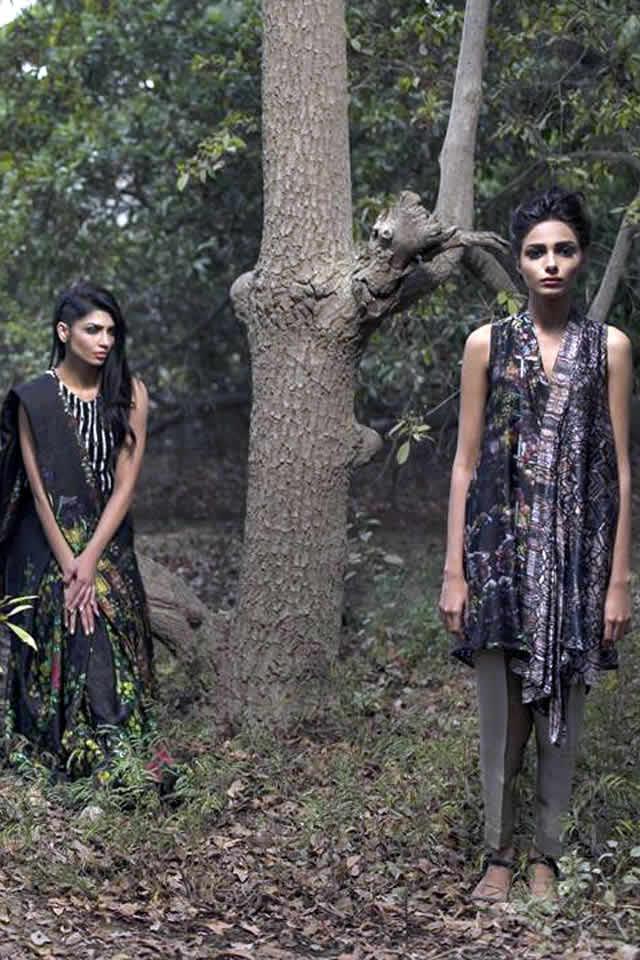 Nida Azwer Summer Dresses collection 2016