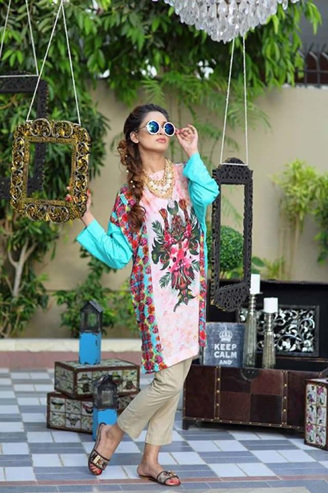 Nida Khurram Summer Lawn Collection 2015