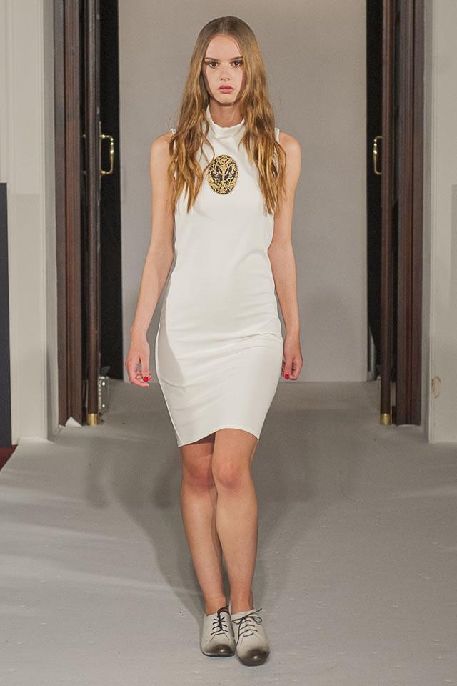 2015 London Fashion Week Omar Mansoor Dresses Gallery