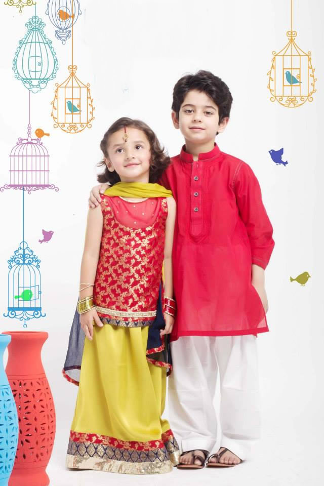 Origins Kids Eid collection 2015 Pics