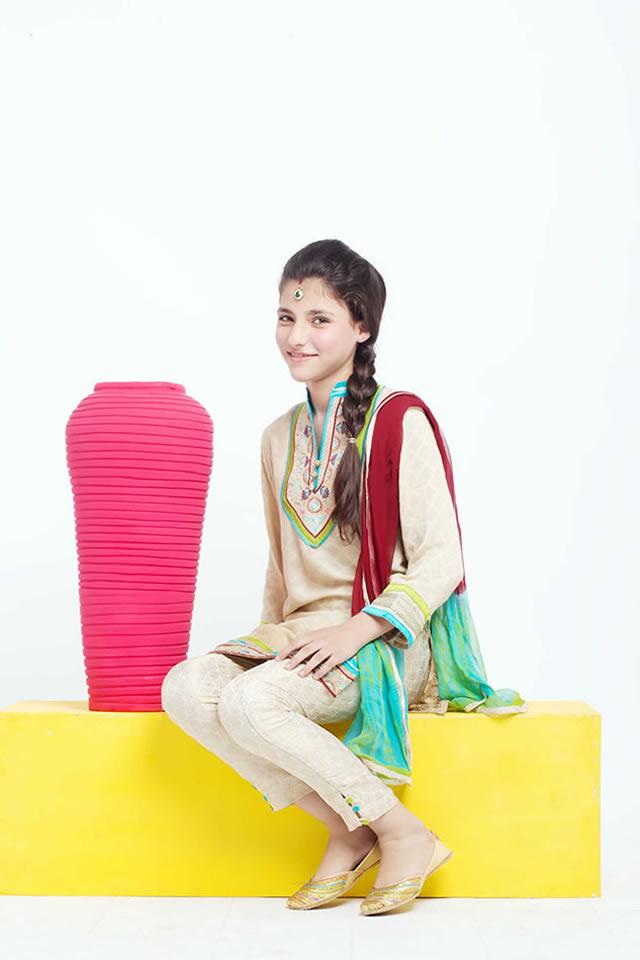 Origins Kids Eid Dresses Collection 2015 Pics