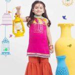 Origins Kids Eid Dresses Collection 2015 Pictures