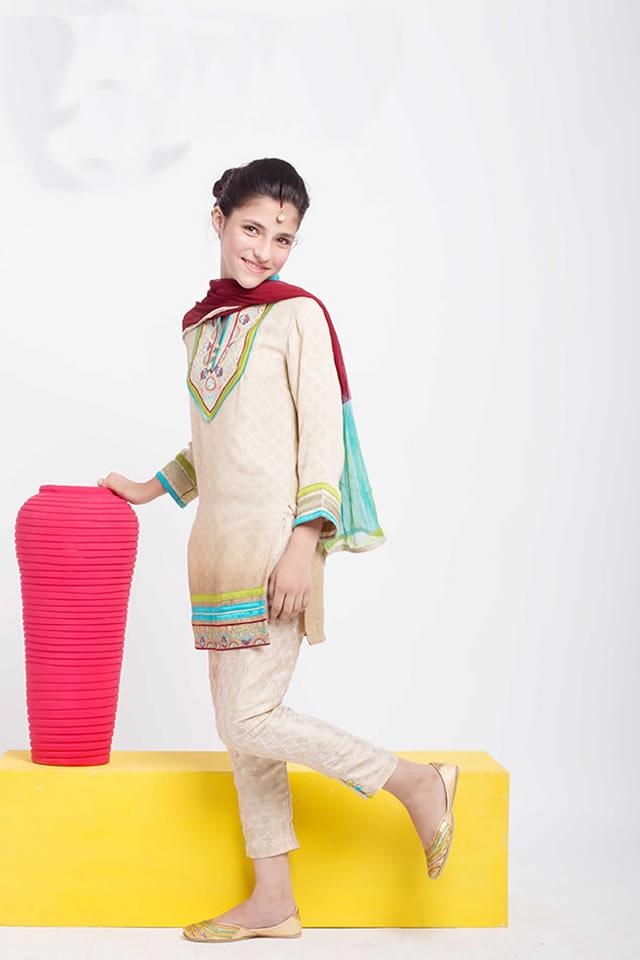 Origins Kids Eid Dresses Collection 2015 Gallery