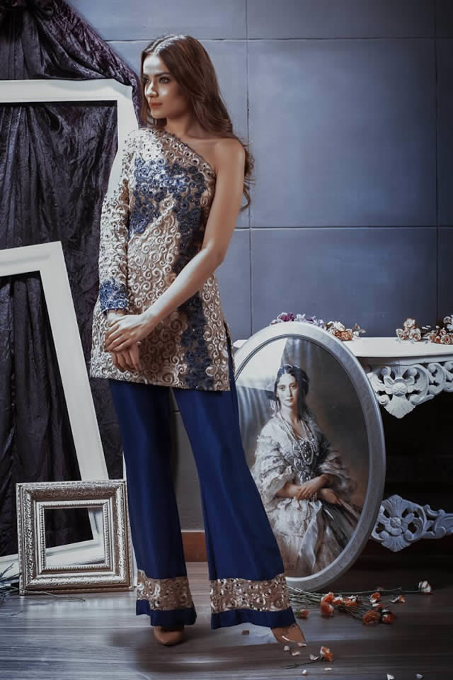 Pehnou Party Wear collection 2016 Pictures