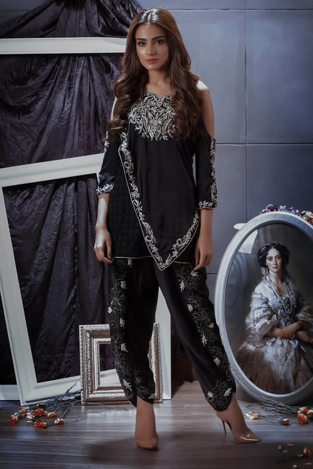 Pehnou Party Wear collection 2016 Images
