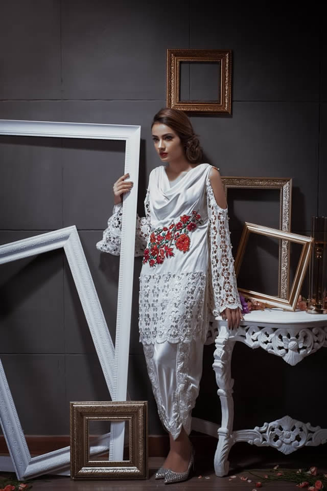 Pehnou Party Wear Dresses collection 2016