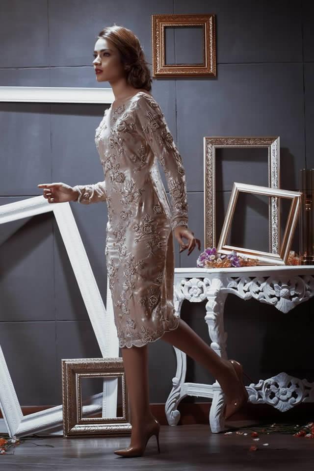 Pehnou Party Wear Dresses collection 2016 Pics