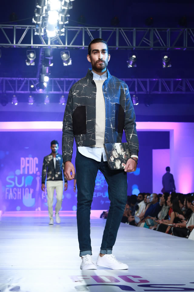 2015 REPUBLIC BY OMAR FAROOQ AT COLLECTION PFDC Fashion Week