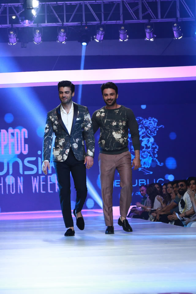 2015 Latest REPUBLIC BY OMAR FAROOQ AT COLLECTION PFDC Fashion Week