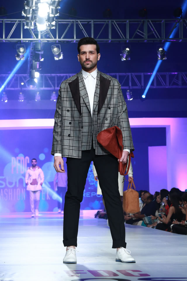 Fashion Week Sunsilk REPUBLIC BY OMAR FAROOQ AT COLLECTION PFDC Latest