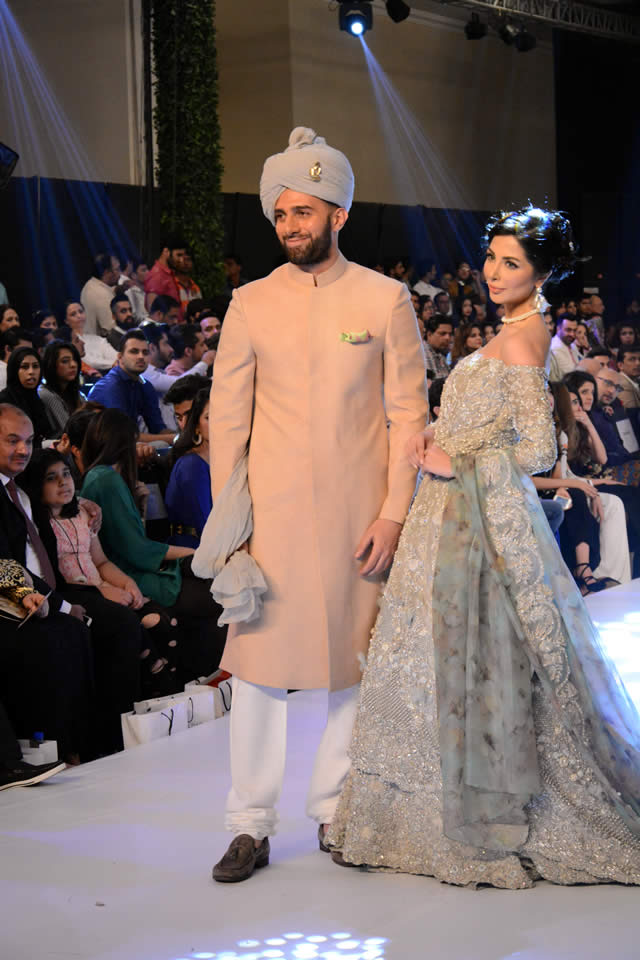 2015 PFDC Loreal Paris Bridal Week Omar Farooq Formal Collection Pictures