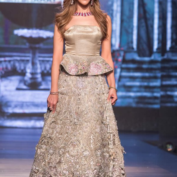 Saadia Mirza 'Roses in Rain' Collection at Bridal Couture Week 2016