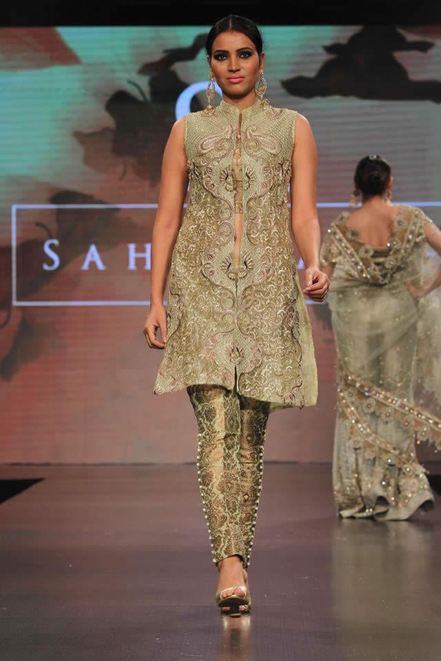 6f5e033b27b5 Sahar Atif Bridal Collection at Shaan-e-Pakistan 2015