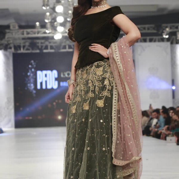 Saira Rizwan Mademoiselle Bridal Collection PLBW 16