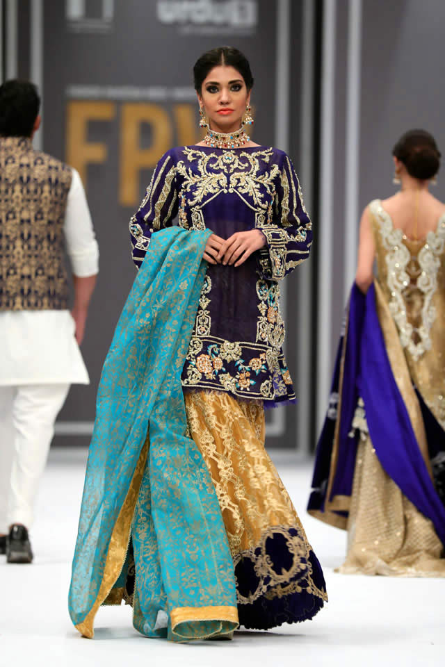 2016 FPW Saira Rizwan Dresses Collection Photos