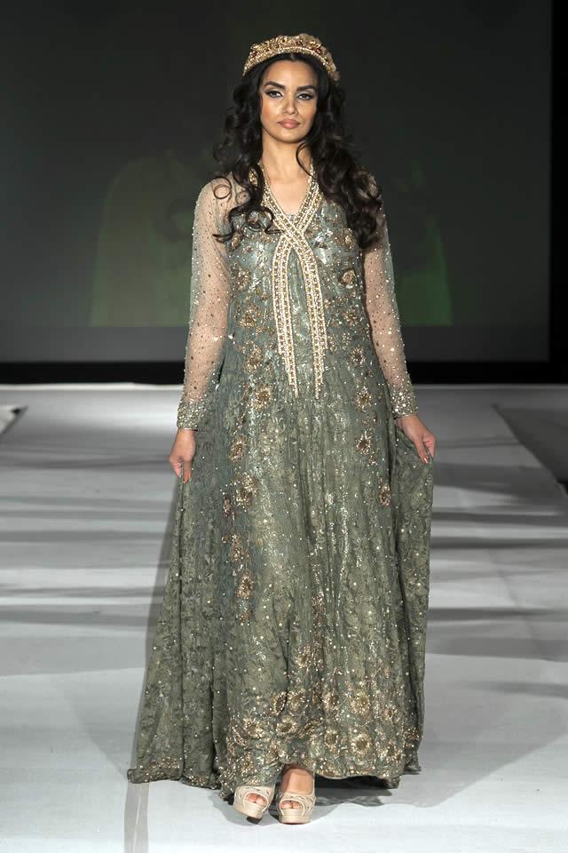 Fashion Designer Saira Rizwan Dresses Pakistan Fashion Extravaganza London 2015 Fashion Central