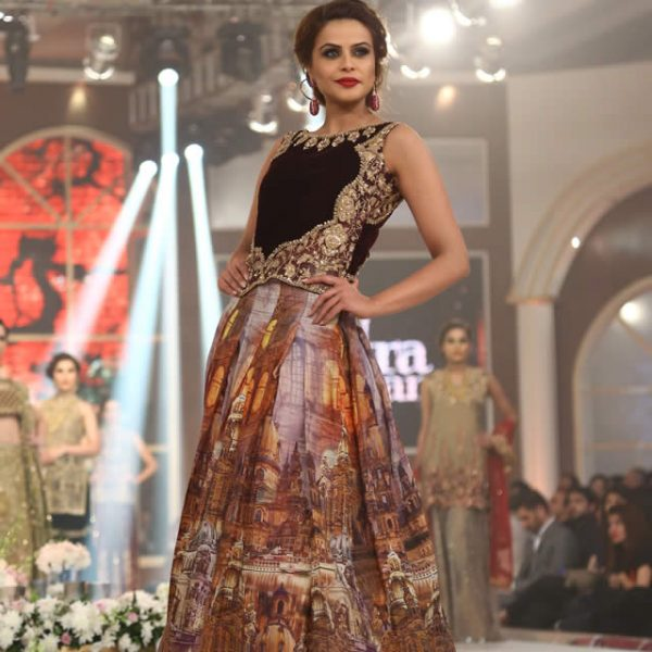 Saira Rizwan Bridal Collection at TBCW 2015