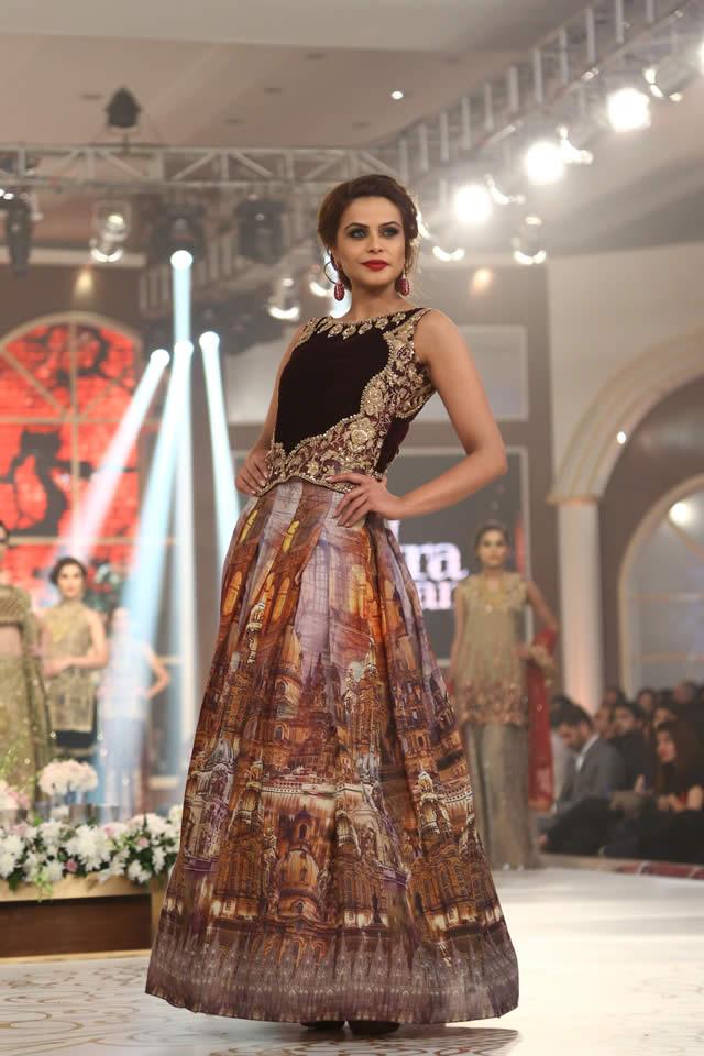 Saira Rizwan Bridal Collection at TBCW 2015
