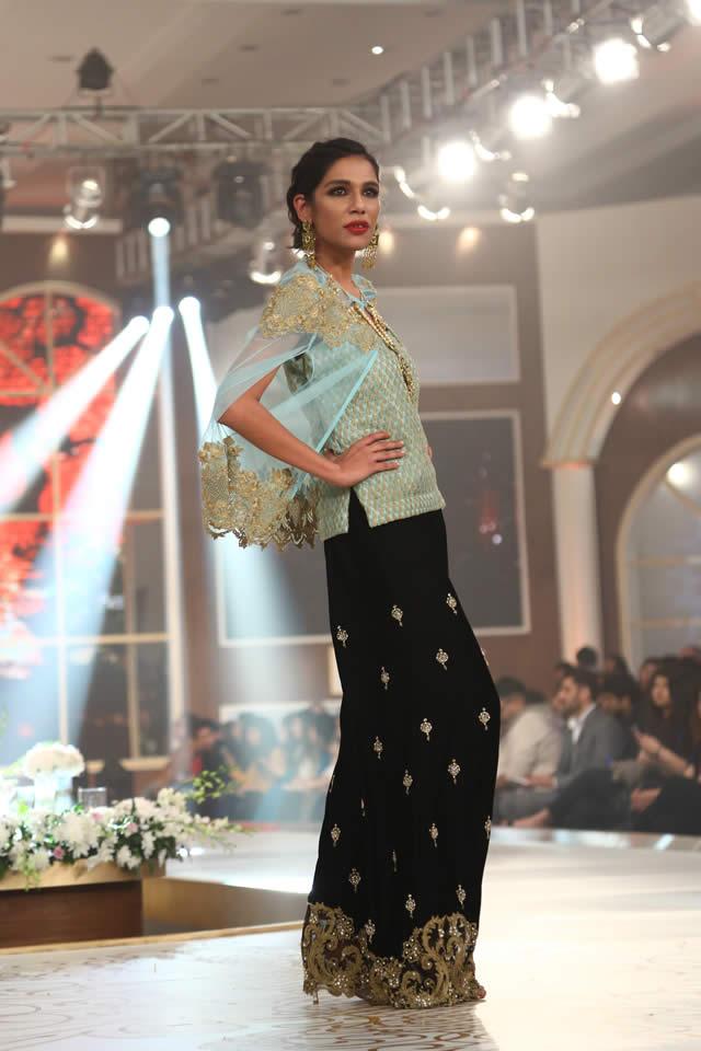 Saira Rizwan Dresses Bridal Couture Week 2015 Images