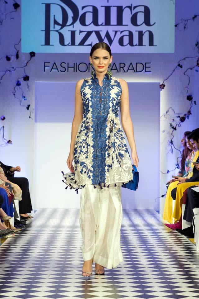 2016 Fashion Parade London Saira Rizwan Dresses Gallery