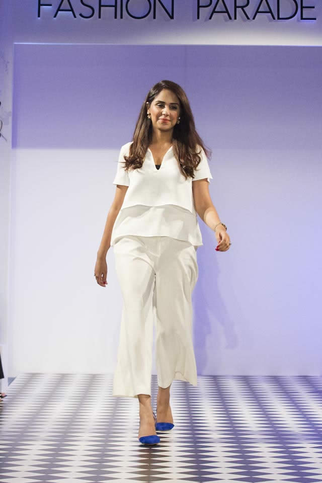 2016 Fashion Parade London Saira Rizwan Dresses Collection Photos