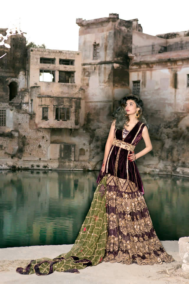Saira Rizwan Bridal Couture Dresses collection 2016 Gallery