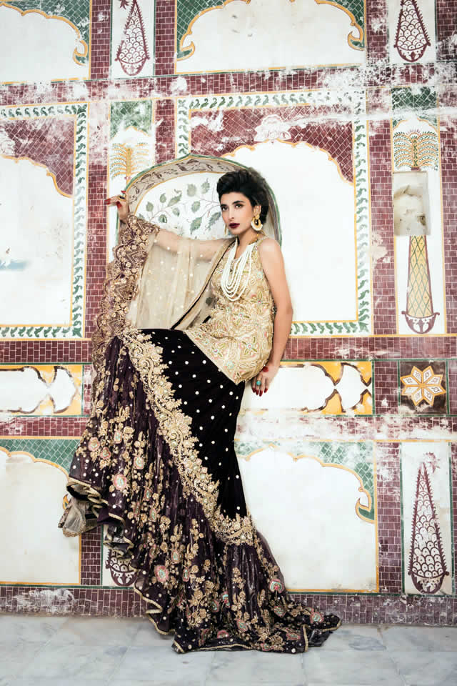 ca2be839fc Saira Rizwan Bridal Couture collection 2016 Pictures