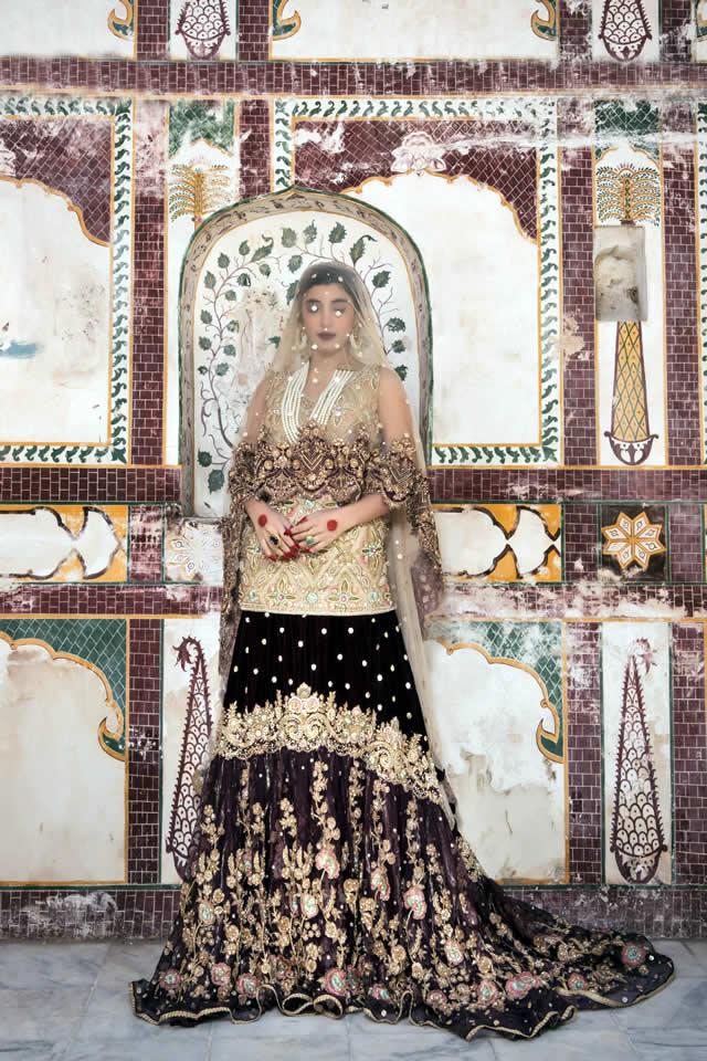 Saira Rizwan Bridal Couture collection 2016 Images