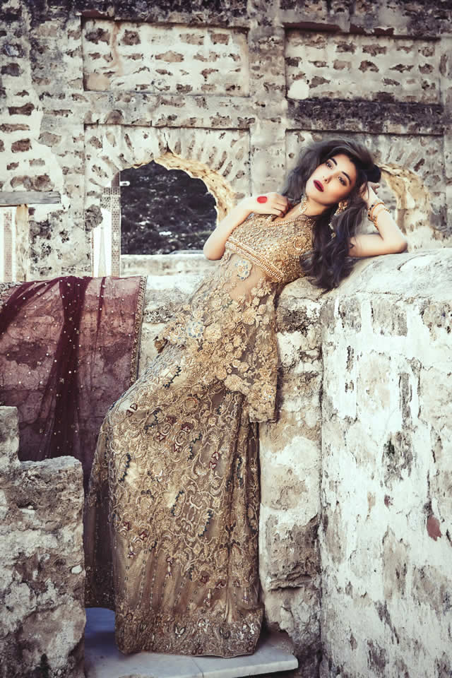 Saira Rizwan Bridal Couture Dresses collection 2016 Pics