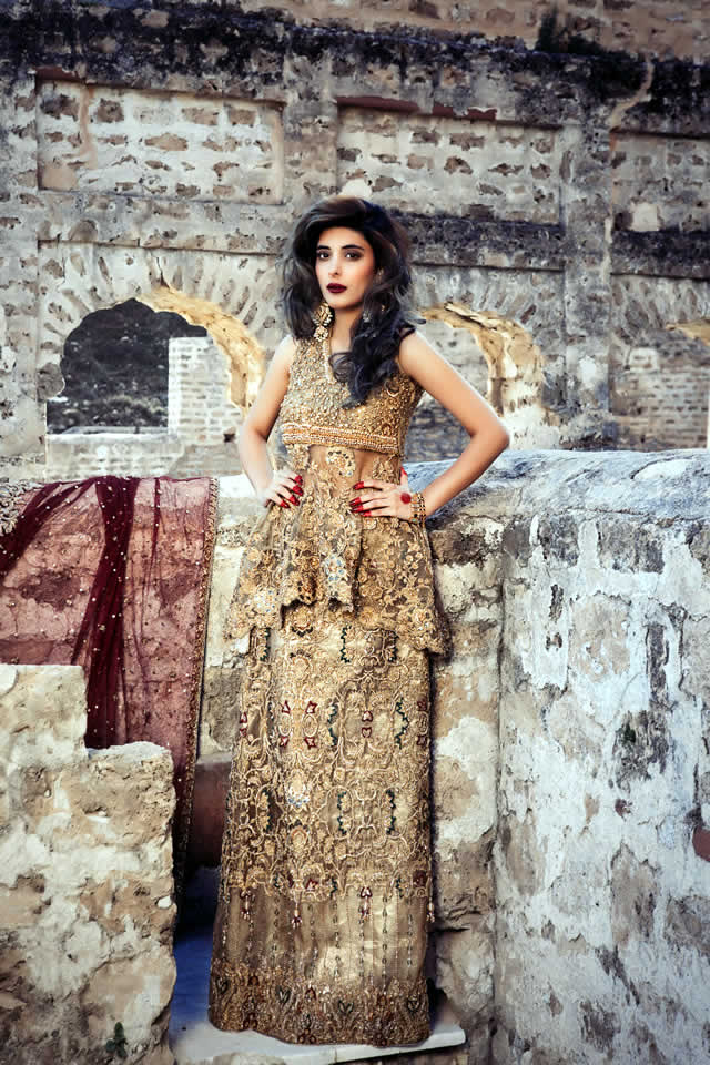 Saira Rizwan Bridal Couture Dresses collection 2016 Images