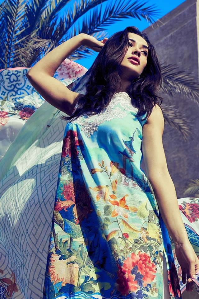 Saira Rizwan Summer Lawn collection 2016 Pictures